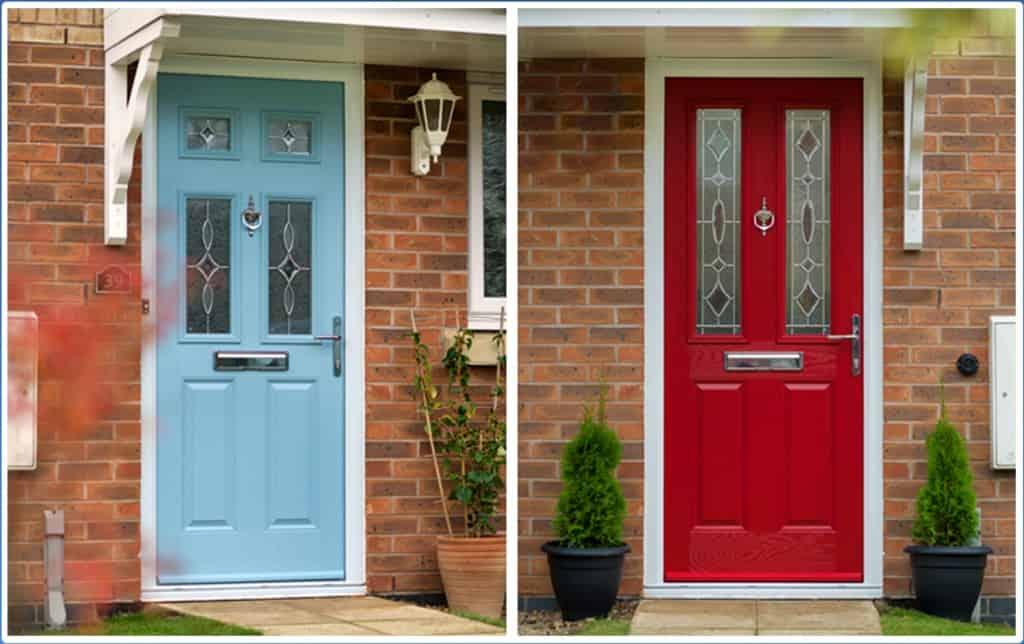 Composite doors chelmsford front doors double glazed for Composite double glazed doors