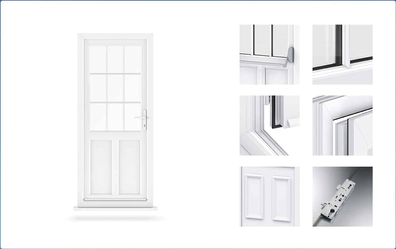 Upvc doors essex front doors double glazed doors for Upvc front door designs
