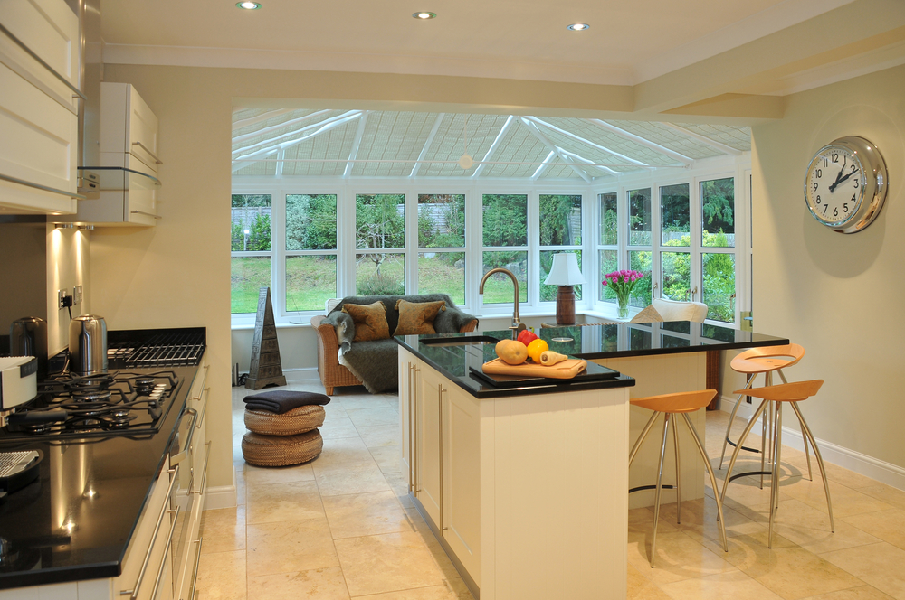 kitchen lean-to extension