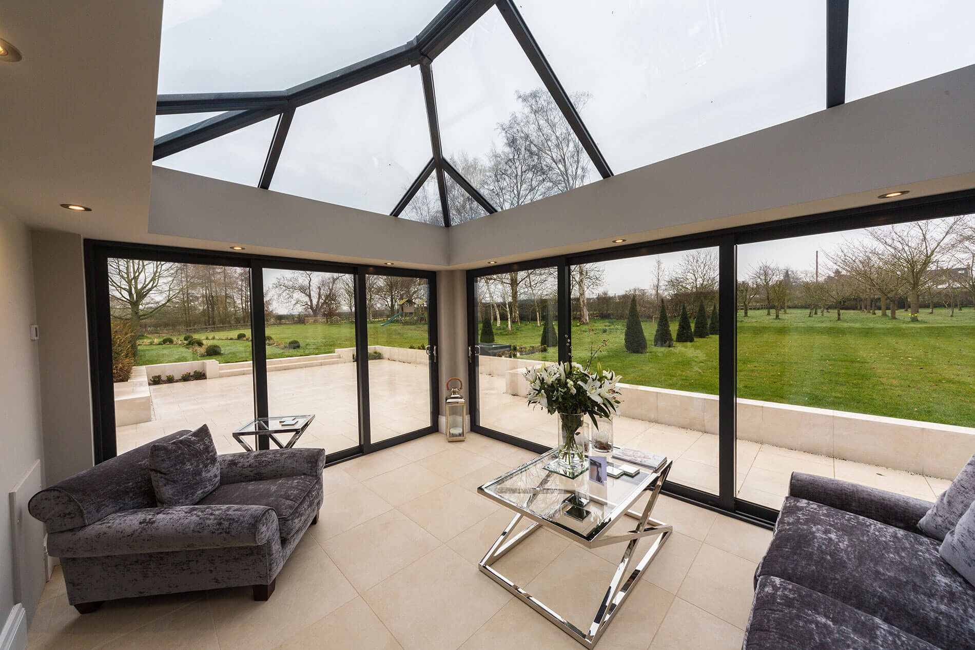 Contemporary Orangery Design Essex