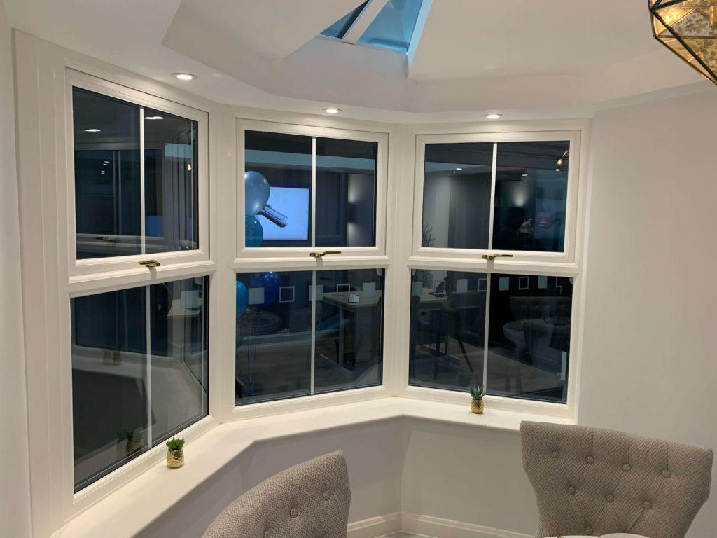 new showroom windows
