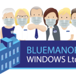 Bluemanor Windows Face Masks
