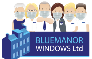 Bluemanor Windows Face Masks